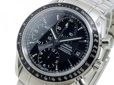 オメガ OMEGA スピードマスター デイト 自動巻き 腕時計…