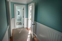 HGTV Dream Home 2015: Master Bathroom | HGTV Dream Home | HGTV like this color for accent wall in master bedrm