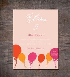 Invito festa di compleanno personalizzato di GoodLifeEventi, €5,00