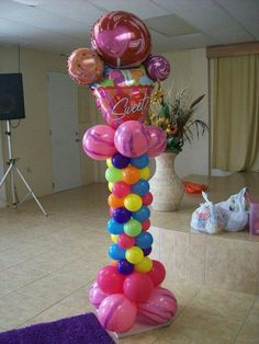 Candyland Balloon towers