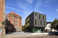 Art school in Kiel by Schmieder.dau.architekten. EQUITONE facade panels. equitone.com