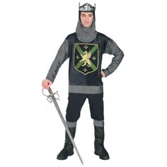 Warrior King Costume for Adults