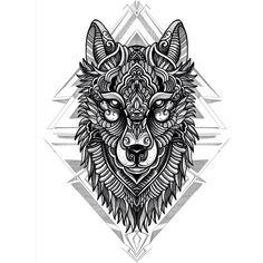 Lobo para muslo ( con la palabra Raíces )