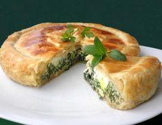 Le ricette di Valentina & Bimby: TORTA SALATA CON SPINACI RICOTTA E UOVA (TORTA PASQUALINA)