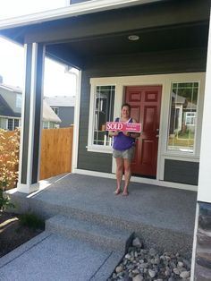Happy Homeowners of a brand new home in Lake Stevens, WA!! Sold by the Diemert Properties Group! 425-308-6641