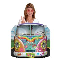 This is the Magic Bus, Millie! Peace & Love, Millie, Peace & Love!