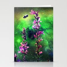 Bee Against The World Stationery Cards by minx267 - $12.00