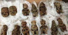 Aseguran aparentes piezas arqueológicas en Jalisco - EL DEBATE