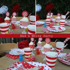 Red & White Party Box