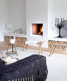 Inspiring Fireplace Ideas for Your Living Room (68)