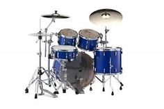 New & Factory Sealed Pearl Session Studio Classic SSC924XUP/C113 Sheer Blue Shell Pack - Includes 4 Drums Total:  22x16 Bass Drum, 10x7 Tom and 13x9 Toms w/Optimount, 16x14 Floor Tom with Legs - FREE SET OF FOUR HUMES & BERG GALAXY DRUM BAGS - FREE Ship Continental USA - Also Ships to Alaska & Hawaii! http://stores.ebay.com/music-for-all-03   http://www.musicforall.biz/