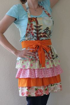 Frilly Apron pattern