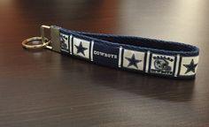NFL Dallas Cowboys Logo Wristlet FOB Keychain by ByChinchie