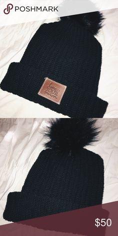 Love Your Melon (LYM) black Pom beanie Love Your Melon black Pom beanie. Brand new Accessories Hats