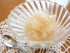 「●新生姜のシャーベット」スポンジボブ | お菓子・パンのレシピや作り方【corecle*コレクル】