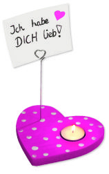 #Notizhalter Herz ▶ https://shop.wehrfritz.de/de_DE/Notizhalter-Bastel-Kleinteile-Sachenmacher/p/077089?zg=sachenmacher_wecom&ref_id=60848  #Muttertag #Valentinstag #Liebe #Geschenk #Holz #Notizen #Kerze #Herz #rosa