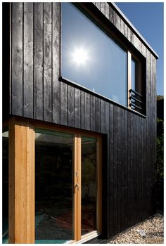 oregon fire station by hennebery eddy features a burnt wood facade details pinterest wood. Black Bedroom Furniture Sets. Home Design Ideas