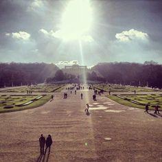 Schonbrunn Castle gardens