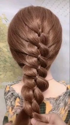 Short Hair Updo, Easy Hairstyles For Long Hair, Braids For Long Hair, Up Hairstyles, Braided Hairstyles, Office Hairstyles, Stylish Hairstyles, School Hairstyles, Curly Hair