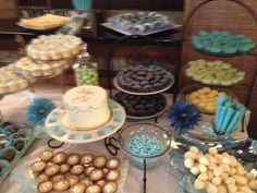 50th wedding anniversary dessert table. my pastry creations