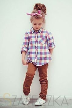 Plaid for girls,  little girls fashion, kid fashion