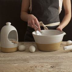 kitchen wares from Farmhouse Pottery