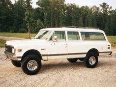 72 Chevy Suburban