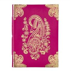 Such a beautiful Paisley journal... adding it to my wishlist :) #MagicalHoliday #indigo