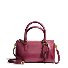 Coach Legacy Mini Satchel In Leather ($228)