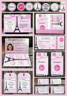 Paris themed party idea