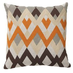 Bazaar Pillow [from the Links & Lines event at Joss and Main!]