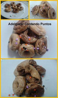 Adelgazar Contando Puntos: Donuts de Chocolate Rápidos! (1pp)