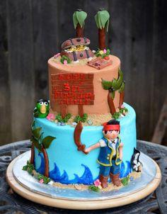 Traylor Made Treats: Jake & the Neverland Pirates tier cake