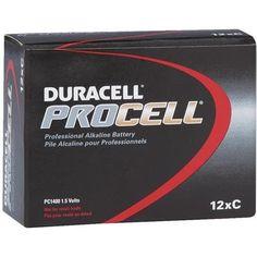 Duracell 12Pk C Alkaline Battery 85495 Unit: BOX