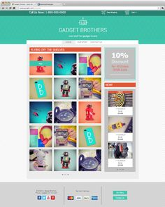 146 best website design templates by wix images on pinterest gadget shop template graphic design blogsweb maxwellsz