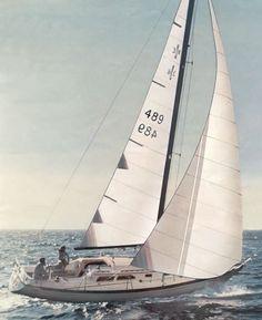 Islander 36 photo on sailboatdata.com