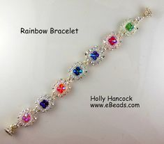 Beaded Bracelets Tutorial, Beaded Bracelet Patterns, Seed Bead Bracelets, Handmade Bracelets, Handmade Jewelry, Bead Jewellery, Seed Bead Jewelry, Easy Beading Patterns, Super Duo Beads