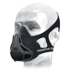 Nieuwste Phantom Training 2.0 Masker Elevatie Zwart Model Training 2.0 Milieu Voor Sport Air Lichaam Masker