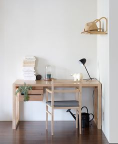 Clean & modern home office