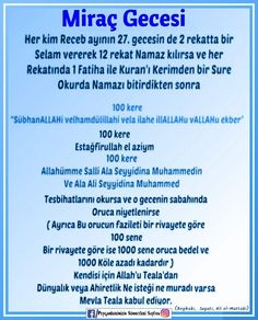 Miraç Kandili Hafiz, Allah Islam, Prayers, Peace, Cases, Beans, Sobriety, Allah, World