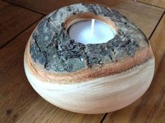 woodturning tea light - Google Search #Woodturning