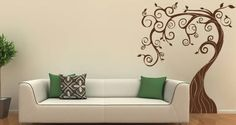 This is so neat - decals for wall - easy to put on and easy to remove. Changes the whole room - Love this