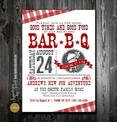 Don't forget to send out the invitations to attend your backyard BBQ.  #contest