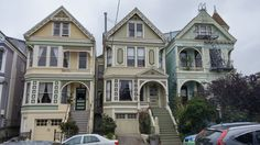 San Francisco Victorian Homes by freakinhippie - Victorian Houses