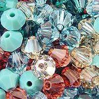 Swarovski Crystal, 4mm Bicone, Tucson Mix