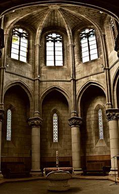 La Seo de Manresa ,  Catalonia