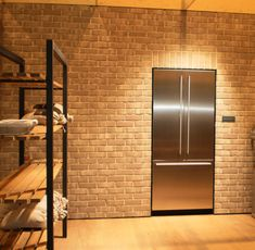 Kühlgerät eingemauert by Gaggenau Divider, Wall Lights, Inspiration, Lighting, Room, Furniture, Home Decor, Biblical Inspiration, Bedroom