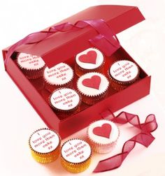 Personalised Valentine Cupcakes Gift Box Red  http://www.caketoppers.co.uk/index.asp?Item=personalised-valentine-cupcakes-gift-box-red--63088626