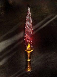 Blood Crystal Dagger