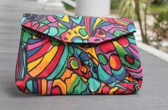 Spring Floral Handbag Vibrant Colorful by PrimaDonnaBoutique, $25.00